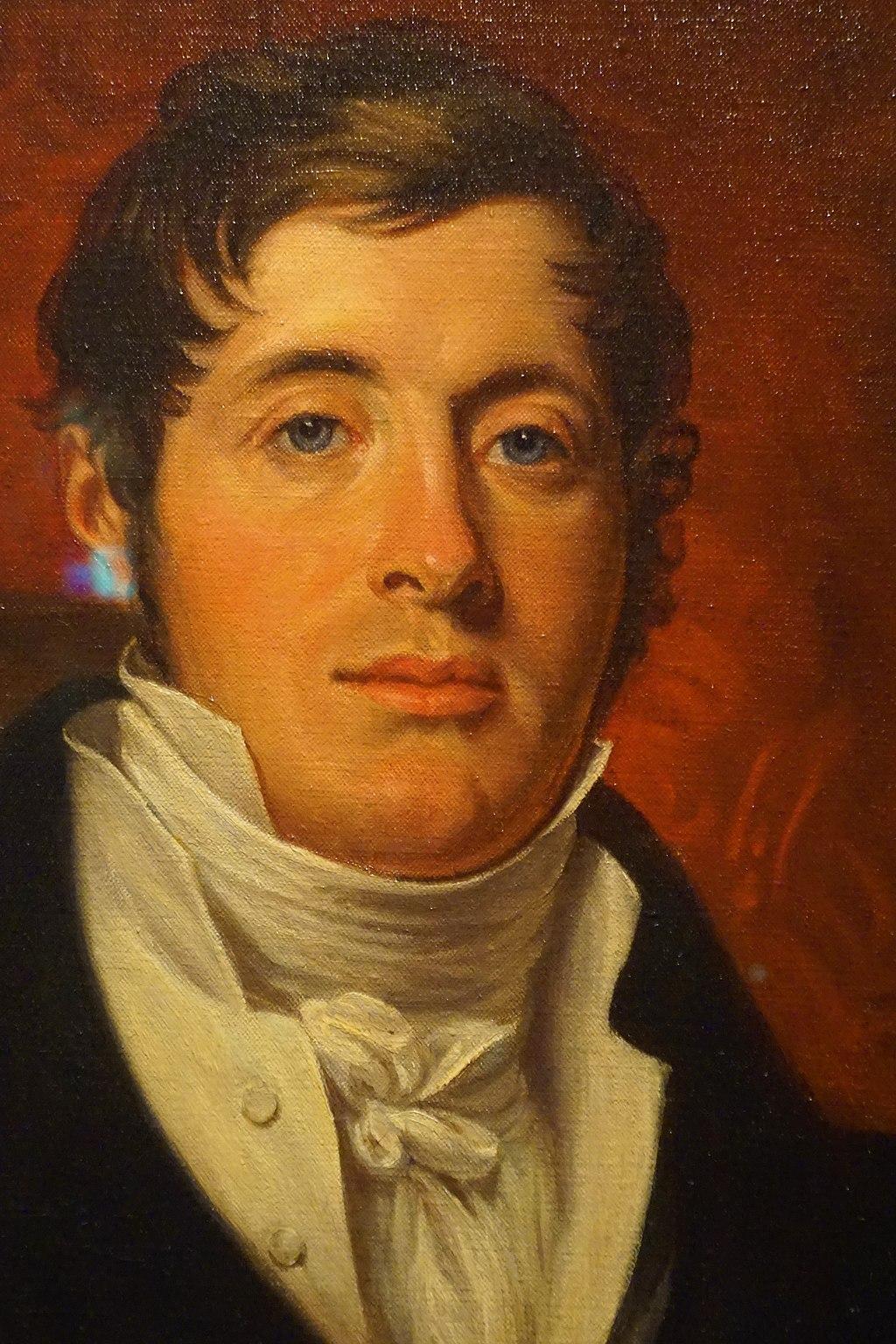 Portrait of Sir Thomas Stamford Bingley Raffles