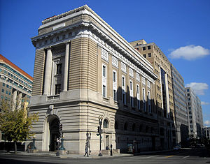 Waddy Butler Wood - National Museum of Women in the Arts, originally a Masonic temple, in Washington, D.C.