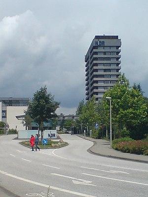 Norddeutscher Rundfunk - NDR television buildings in Hamburg