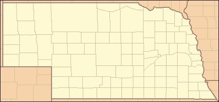 Nebraska Map By County.List Of Counties In Nebraska Wikipedia