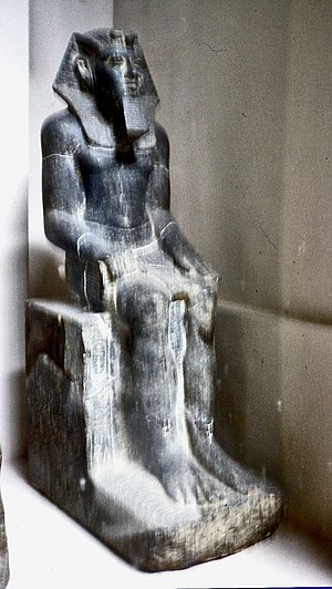 Mersekhemre Ined - Statue CG 42023 of Mersekhemre Neferhotep II, possibly the same person as Mersekhemre Ined.