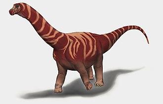 Nemegtosaurus - A full body restoration of N. mongoliensis