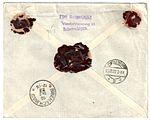 Netherlands 1922-12-14 cover Scheveningen reverse.jpg