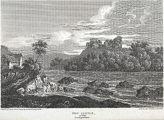 New Castle, in Emlyn, Cardiganshire