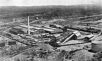 Ajo, Arizona - New Cornelia Copper Company in Ajo, 1922
