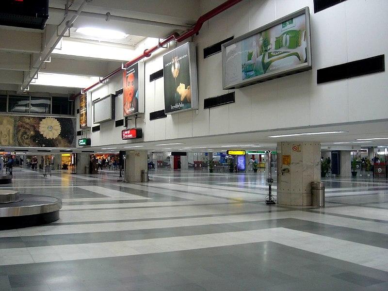 New Delhi Airport's Arrival Terminal