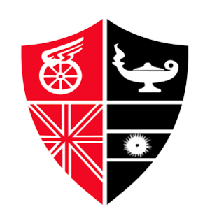 Isaac Newell - The logo designed by Newell for the school, whose colours were then adopted by the club Newell's Old Boys