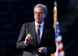 Nicholas Negroponte - Nicholas Negroponte delivering the Forrestal Lecture to the US Naval Academy in Annapolis, MD, on April 15, 2009