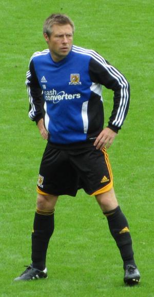 Nick Barmby - Barmby training with Hull City in 2011