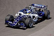 Rosberg in azione nel Gran Premio del Canada 2006