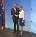 Nicola Sturgeon meets with Niels Annen, German Minister, 2018.jpg