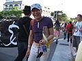 Ning Yingbin 2009 Pride parade.jpg