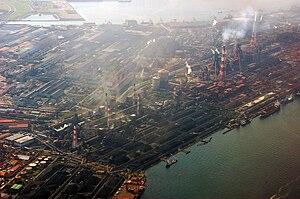 Chiba Prefecture - Nippon Steel Kimitsu Works, 2007, Kimitsu, Keiyō Industrial Zone