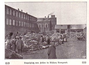 Fur trade - Fur trade in Nizhny Novgorod (before 1906)