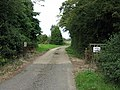 No great welcome at Maggotts Farm - geograph.org.uk - 547419.jpg