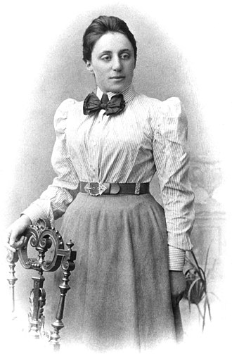 Mathematician - Emmy Noether, mathematical theorist and teacher.