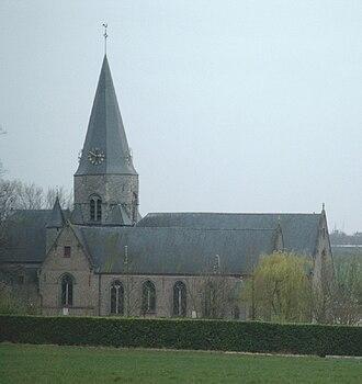 Kruishoutem - Church of Nokere