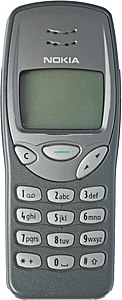 Nokia 3210 mit Original-Cover