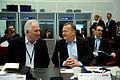 Nordiska ministerradets generalsekreterarer Halldor Asgrimsson och Danmarks statsminister Lars Loekke Rasmussen pa Nordiskt globaliseringsforum 2010.jpg
