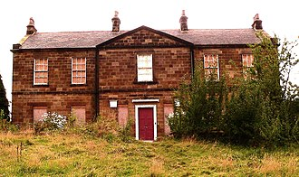 Normanby, Redcar and Cleveland - Normanby Hall, in a state of disrepair.
