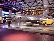North American F-86K at militare luchtvaart museum Soesterberg