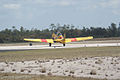 North American SNJ-6 Texan Navy Heading Out TICO 13March2010 (14599496415).jpg