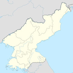 North Korea is located in North Korea