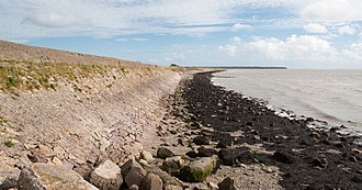 North Slob - North Slob seawall