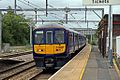 Northern Electrics Class 319, 319374, platform 1, Earlestown railway station (geograph 4531147).jpg