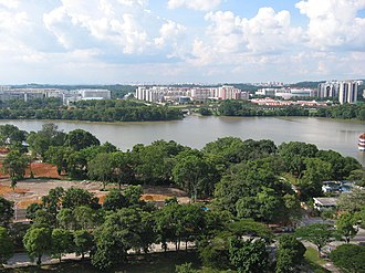 Jurong Lake - Image: Northern to middle part of Jurong Lake, Singapore