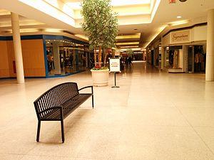 Northland Center - A mall hallway in 2015.