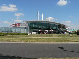 Norton Canes services - The main buildings.