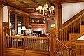 Norumbega Inn, Camden, Maine 05 Staircase and alcove.jpg