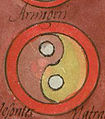 Notitia Dignitatum, Clm 10291, Image No. 410, Armigeri Shield Pattern.jpg