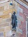 Nymburk, radnice, nárožní socha svatého Václava.jpg