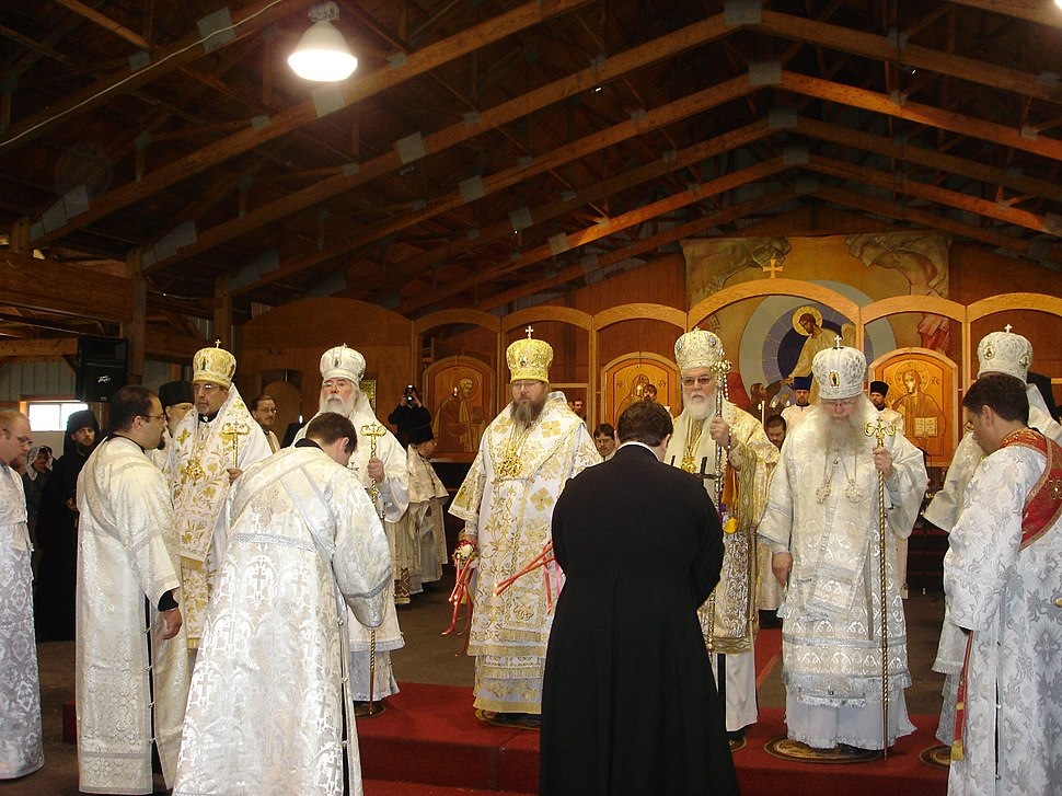 OCA bishops in Saint Tikhon's Monastery and Theological Seminary
