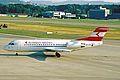 OE-LFQ Fokker 70 Austrian Airlines ZRH 18JUN03 (8533892362).jpg