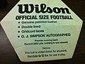 OJ Simpson signed football 2180 (6113127184).jpg