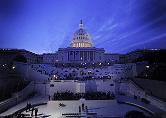First inauguration of Barack Obama - Preparations at the United States Capitol