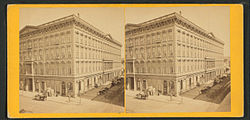 Occidental House From The Robert N Dennis Collection Of Stereoscopic Views