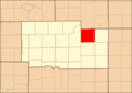 Ogle County Illinois Map Highlighting Scott Township.png