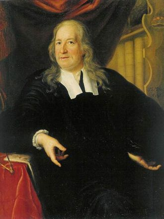 Martin Mijtens the Elder - Portrait of Dr. Olaus Rudbeck (1696)