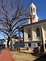 Old Courthouse, John S Mosby Memorial and Courthouse Square.JPG