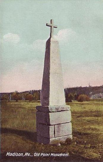 Old Point Monument, Madison, ME