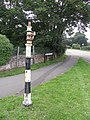 Old Sign Post at Staple Cross - geograph.org.uk - 495506.jpg
