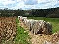 Old bales near Folly Farm, Shalbourne - geograph.org.uk - 763400.jpg