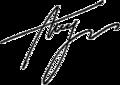 Oleksandr Turchynov Signature 2014.png