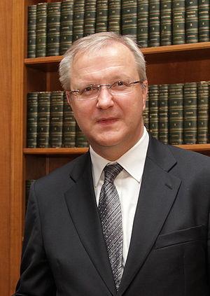 European Commissioner Olli Rehn