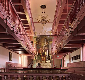 Ons' Lieve Heer op Solder - Interior of the house church