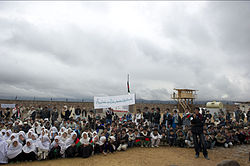 Opening ceremony of ANP district headquarters in central Afghanistan-2011.jpg